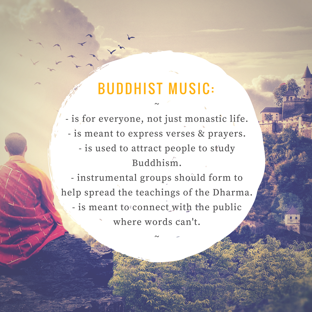 Buddhist Music and Differences