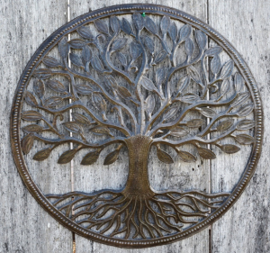 Handmade Steel Drum Tree of Life