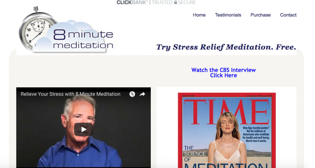 8-Minute Meditation