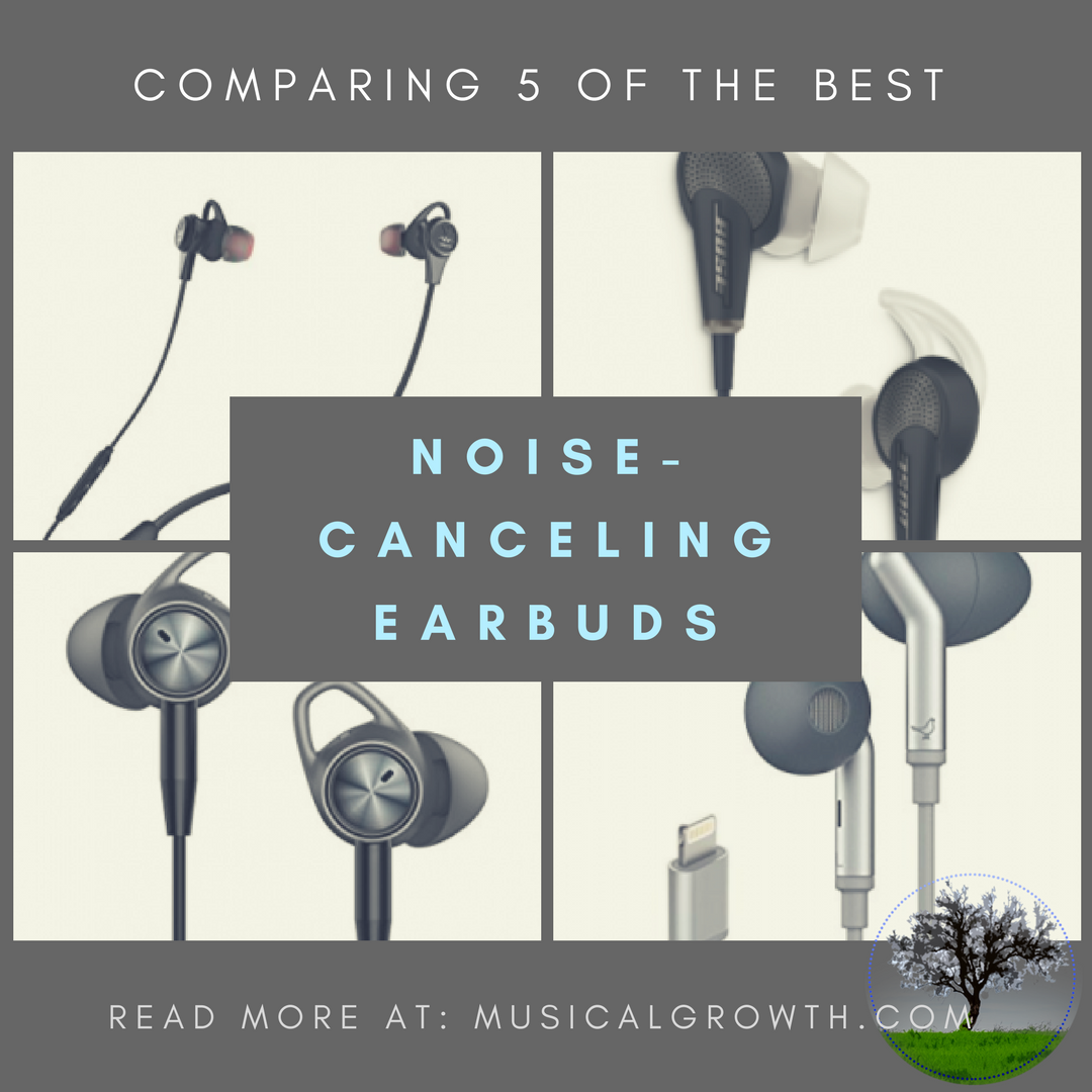 Noise-Canceling Earphones