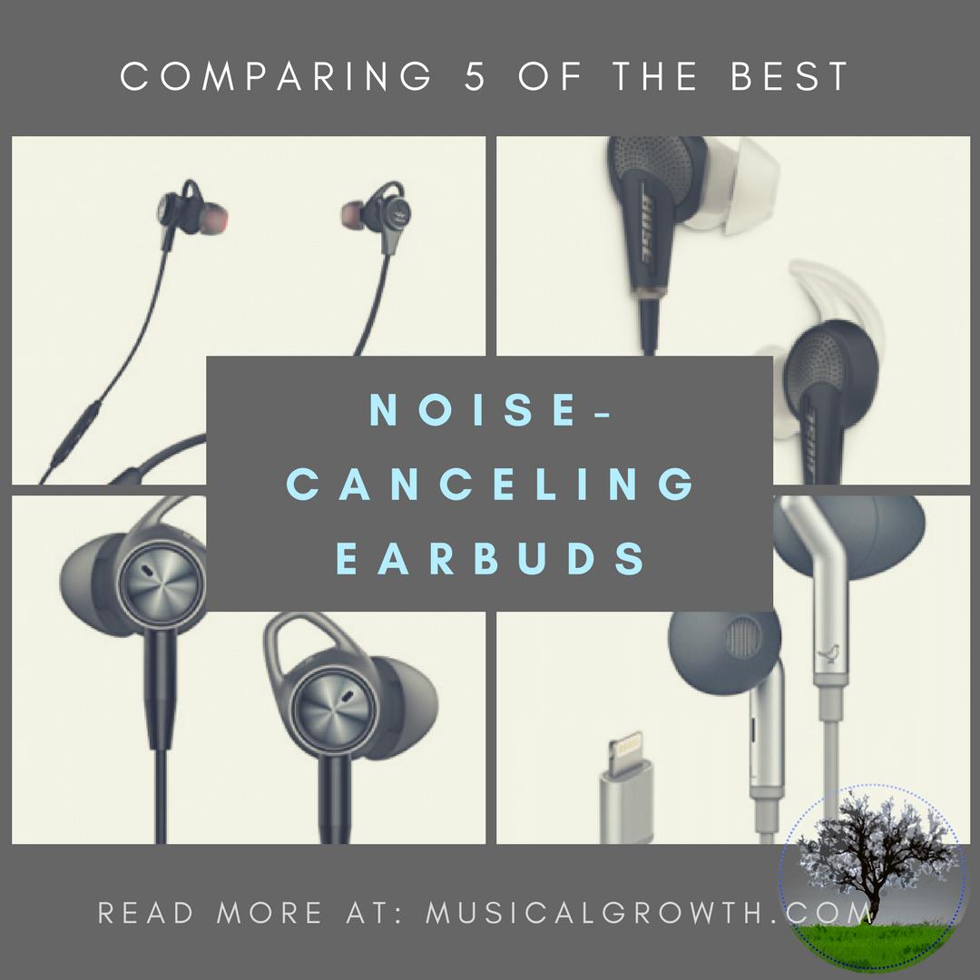 Noise-Canceling Earphones