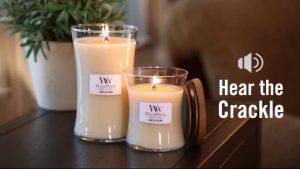 WoodWick Candle - Vanilla