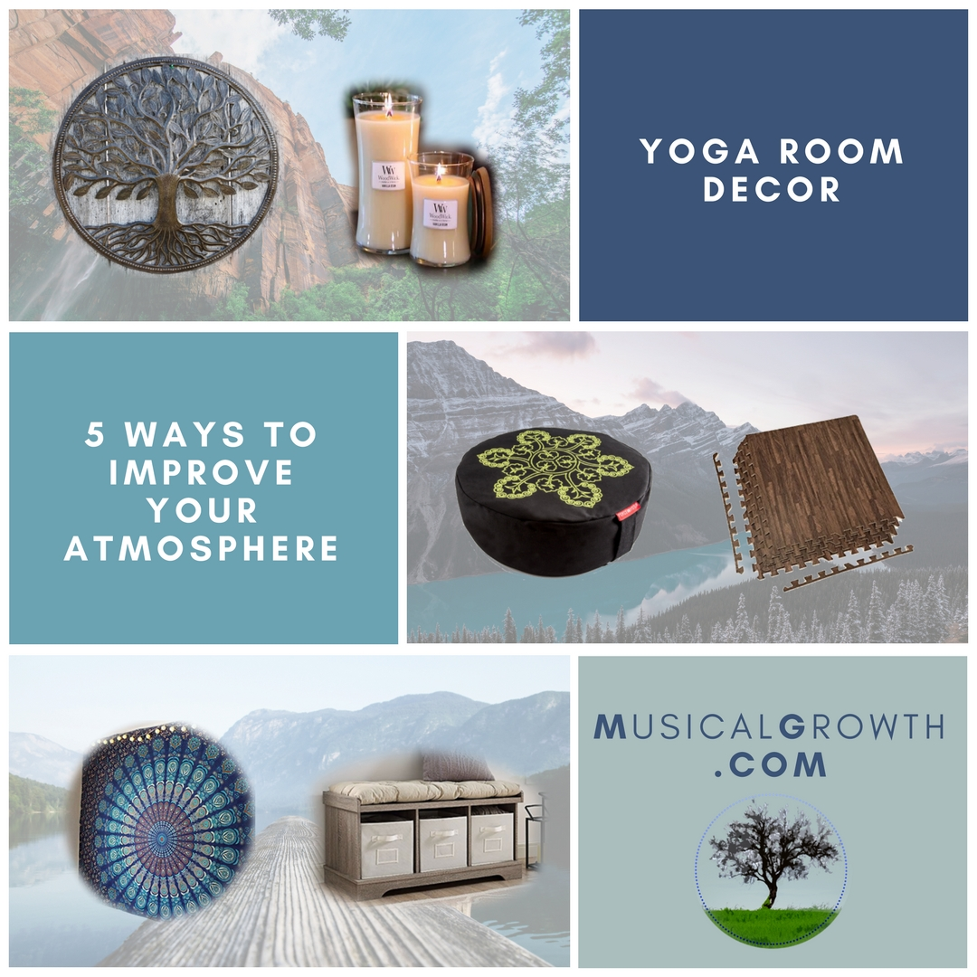 Yoga Room Decor – 5 Ways to Improve Atmosphere