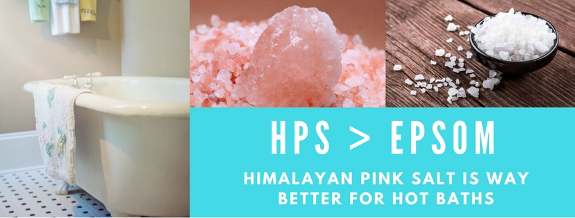 Pink Salt is Better for Hot Baths