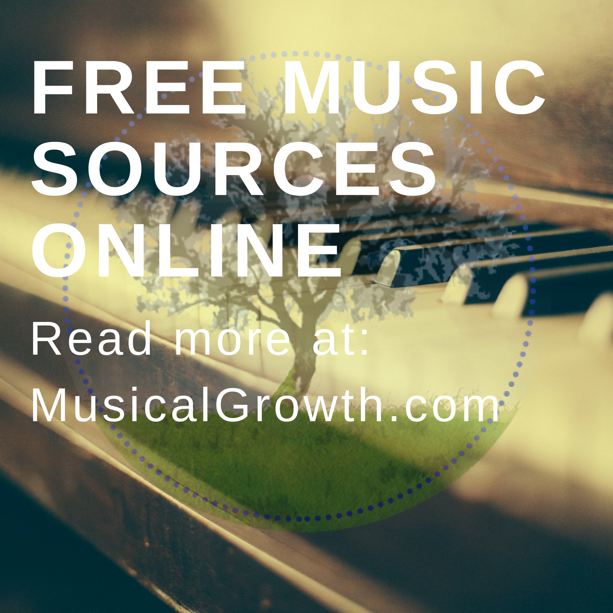 Free Music Sources - MusicalGrowth.com