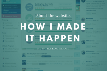 Wealthy Affiliate - How I Made It Happen