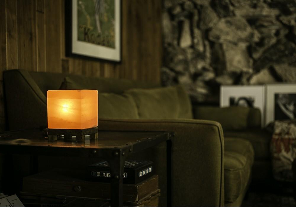 Cube Table Lamp