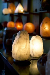 White Pearl Himalayan Salt Lamp