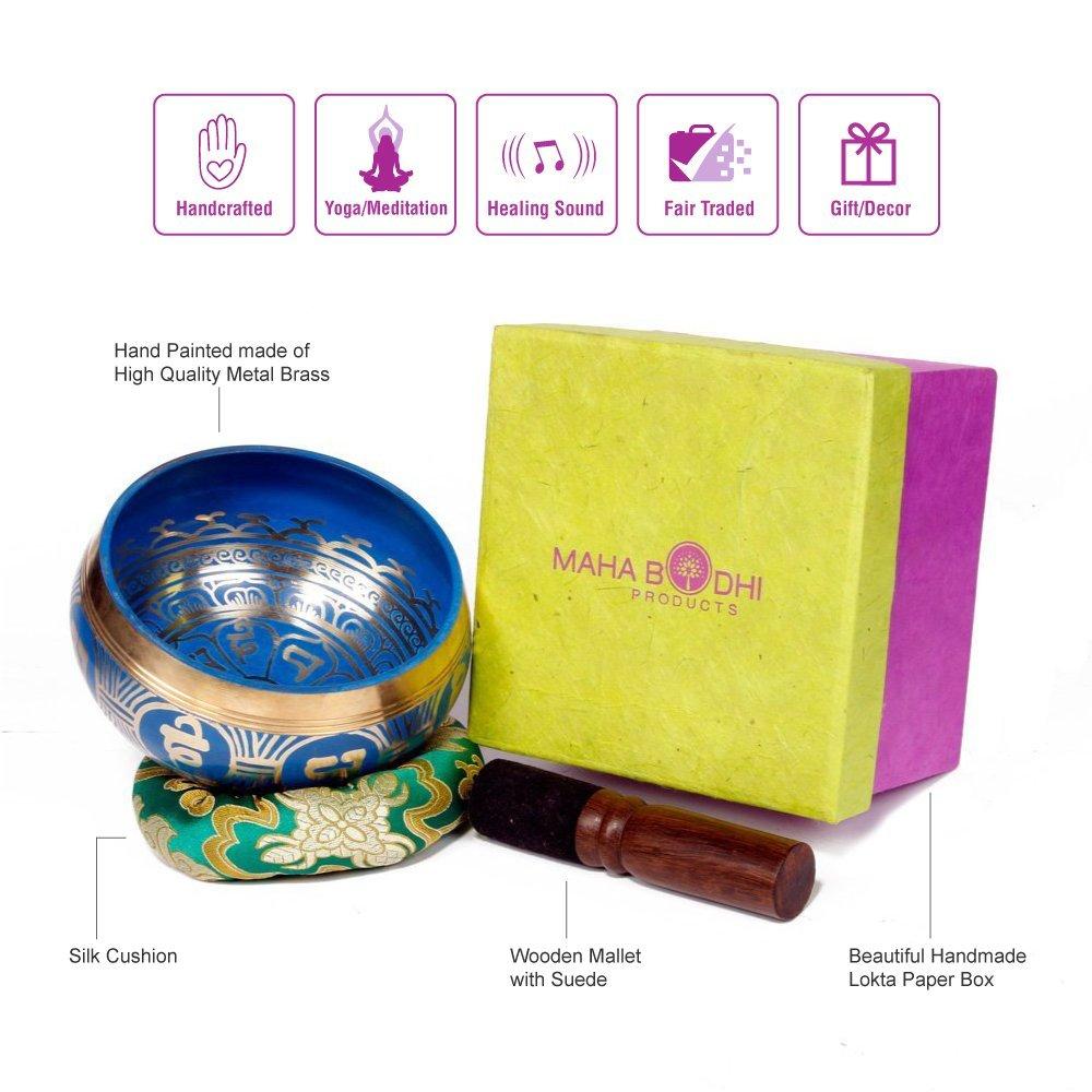 Maha Bodhi Singing Bowl Set