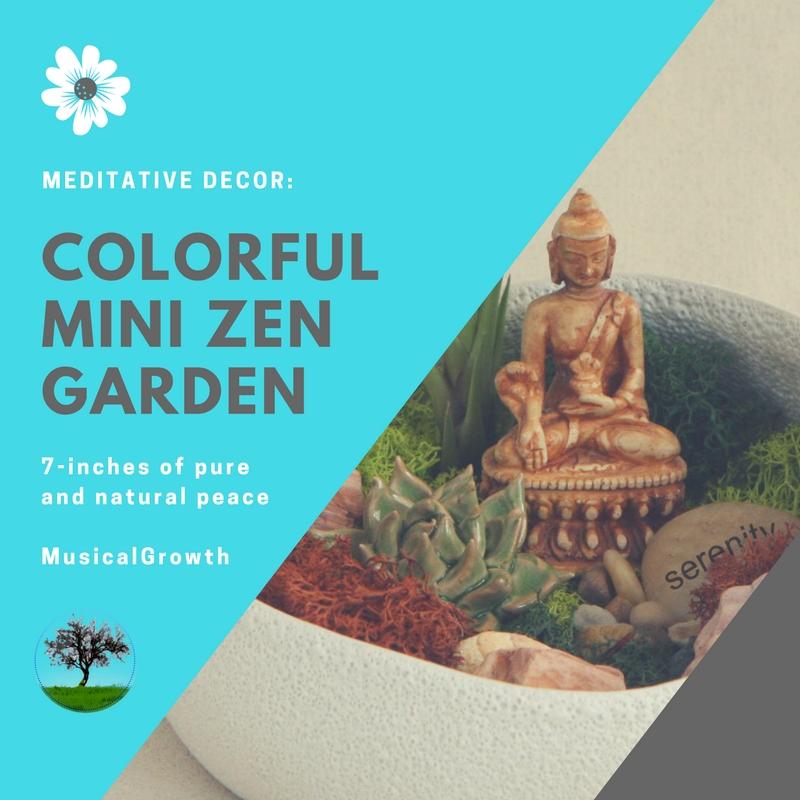 Colorful Zen Garden