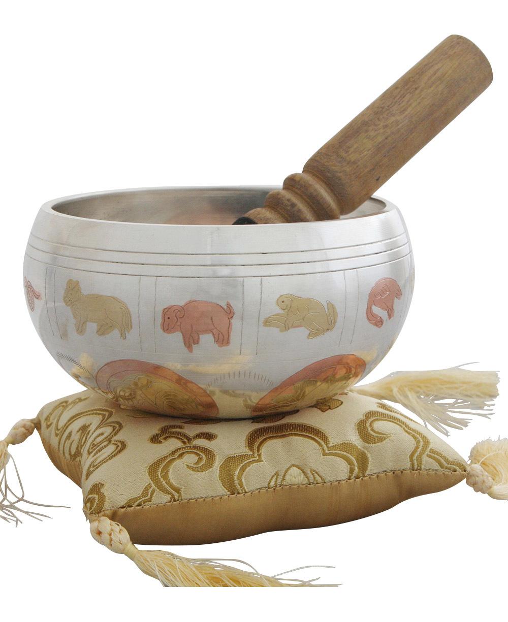 Tibetan Calendar Singing Bowl