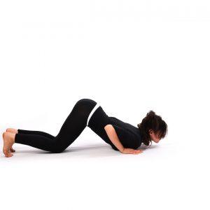 Eight Limbed Pose