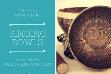 Singing Bowls Sale Under $100