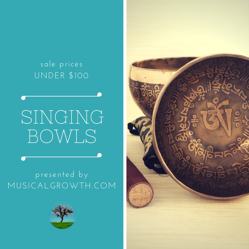 Singing Bowls Sale Under $100