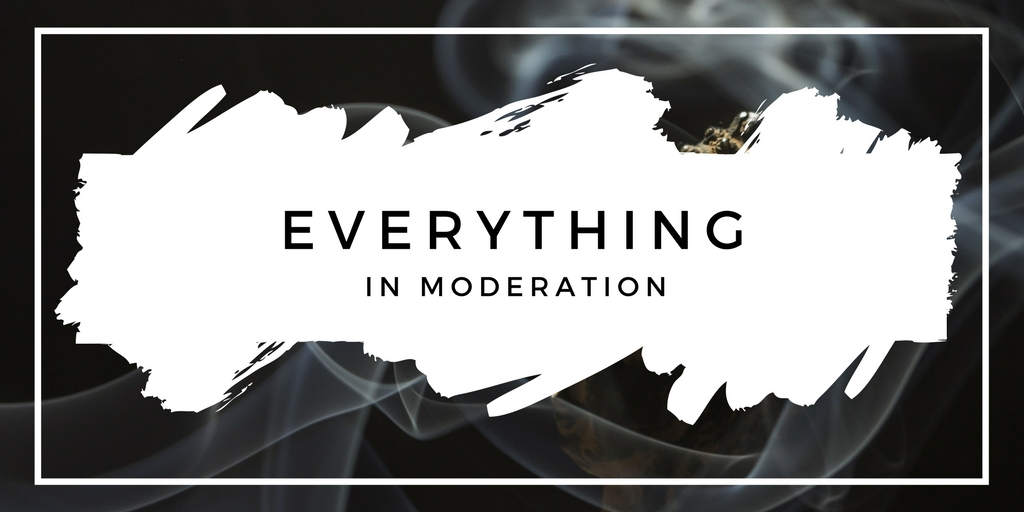 Incense in Moderation