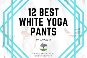 12 BEST WHITE YOGA PANTS