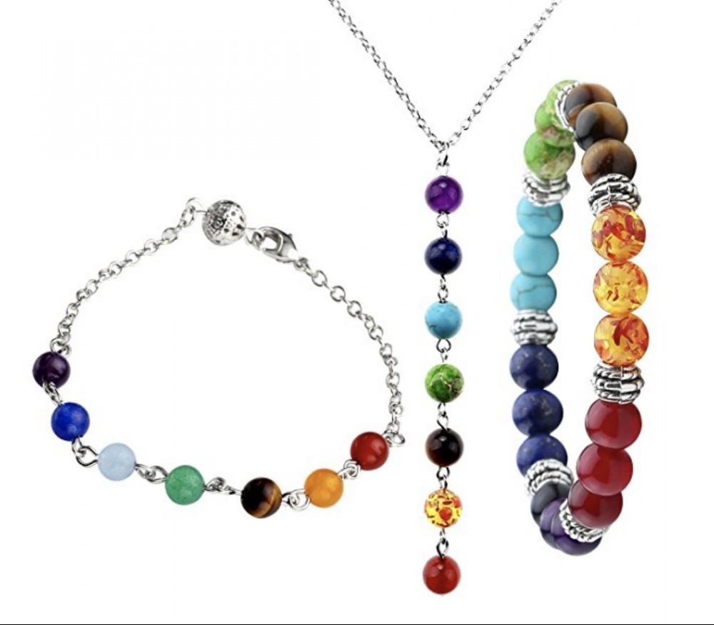Top Plaza Chakra Jewelry Set of 3