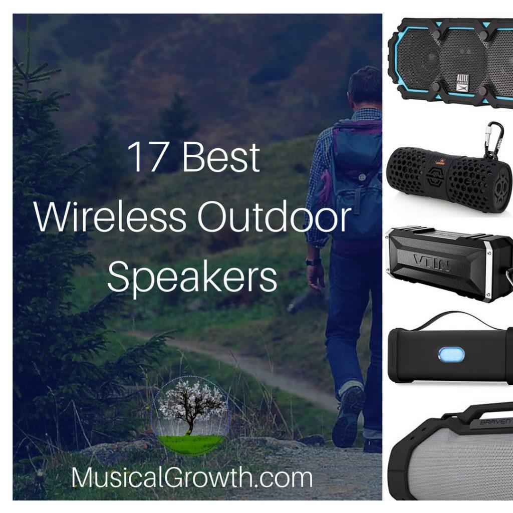 17 Best Wireless Outdoor Speakers